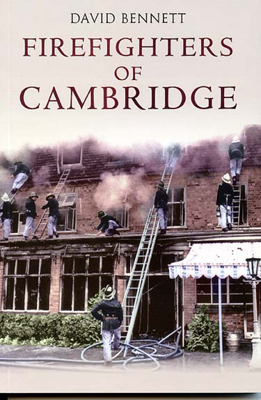front cover jacket of The Firefighters of Cambridge