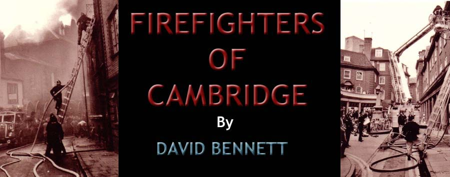 Firefighters of Cambridge by David Bennett-Logo